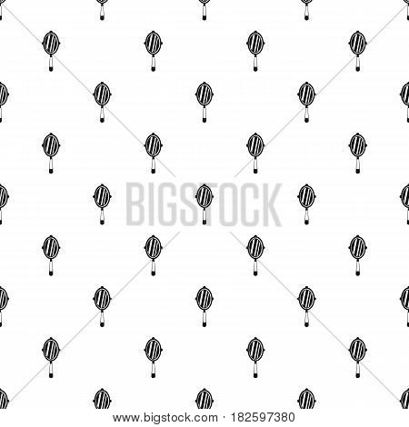 Hand mirror pattern seamless in simple style vector illustration