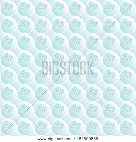 Seamless floral pattern. Light-blue backgrouns. Vector illustration