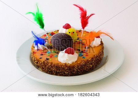 Typical dessert that is given on Easter day.