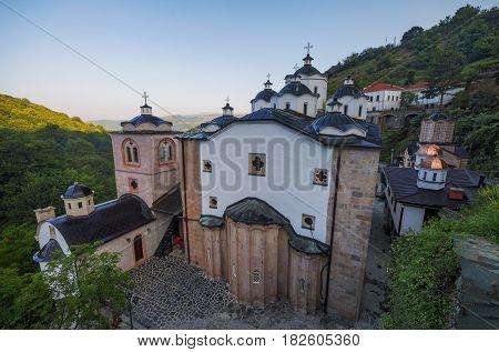 Medieval building in Monastery St. Joachim of Osogovo, Kriva Palanka region, Republic of Macedonia