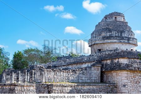 Observatory Of Chichen Itza