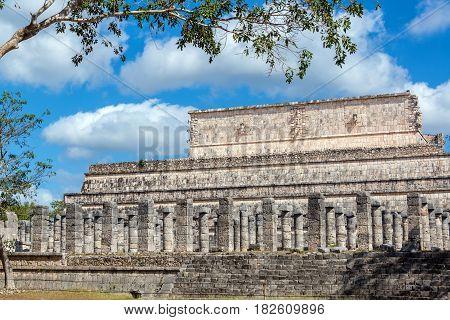 Ruins Of Chichen Itza