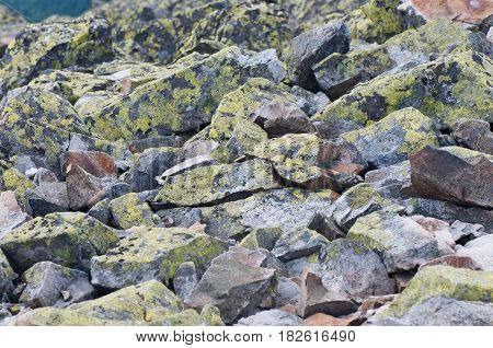 Background of stone. Abstract background. Natural stone. Mountains.