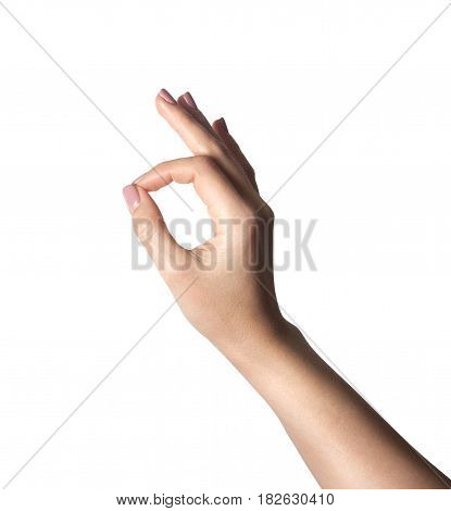 hand gesture indicating that everything is OK