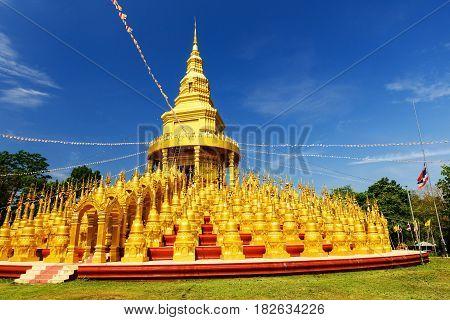 Wat Pa Sawang Bun In Saraburi