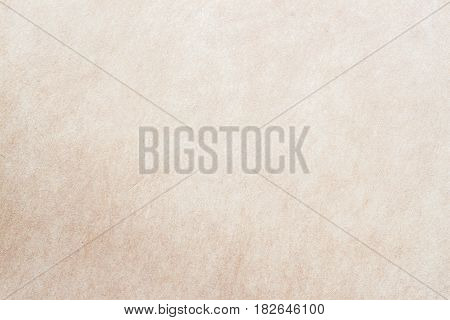 Texture of old organic light cream paper, background for design with copy space text or image. Recyclable material, Natural rough, has small inclusions of cellulose