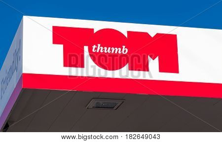 Tom Thumb Retail Gas Station
