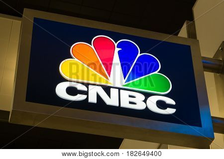 Cnbc Sign And Logo