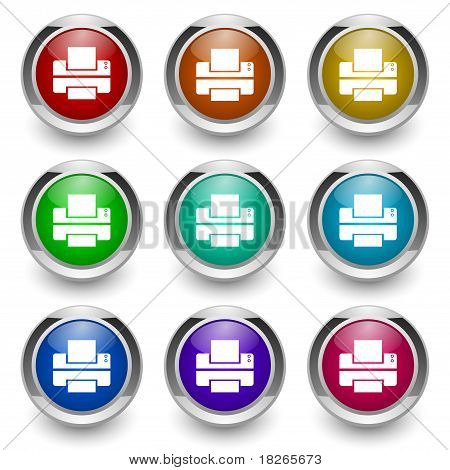 print button set