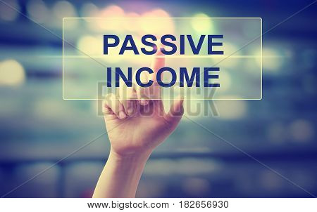 Passive Income Concept With Hand