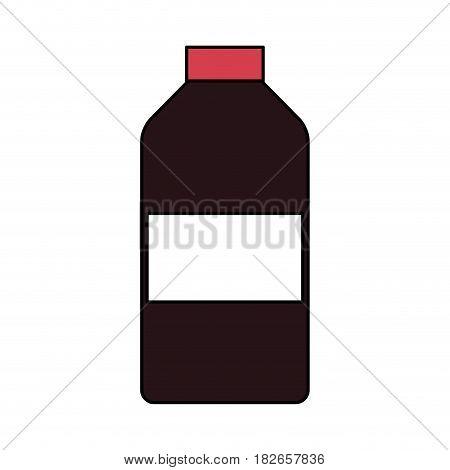 bottle of medication icon image vector illustration design