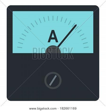 Gauge element icon flat isolated on white background vector illustration