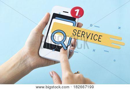 Customer Satisfaction Service Care Online Service