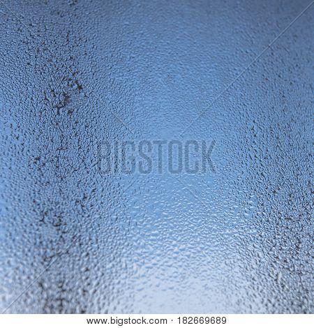 Misted glass, sweaty glass, drop, rain, fog, backdrop