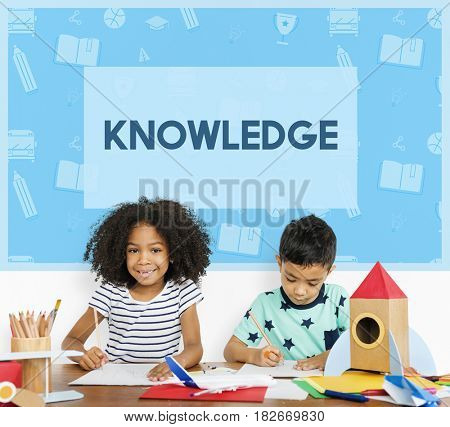 School Wisdom Early Education Concept