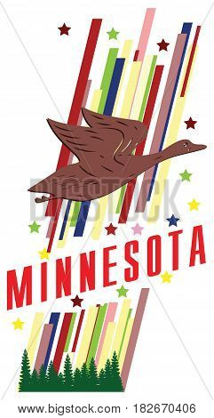 Banner Minnesota for the presentation of the US state.