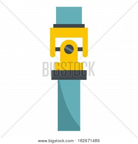 Mechanic detail icon flat isolated on white background vector illustration