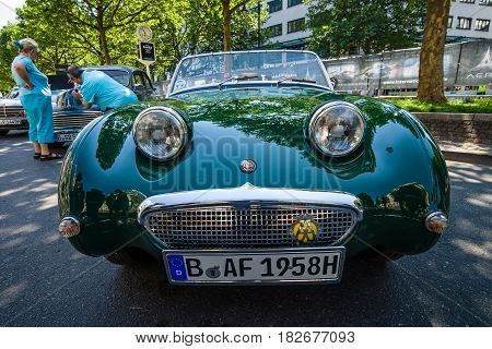 BERLIN - JUNE 05 2016: Sports car Austin-Healey Sprite Mk I 1959. Classic Days Berlin 2016.