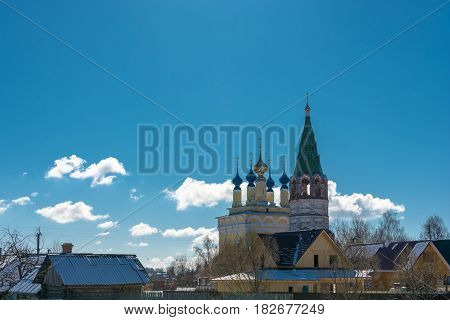 The Church Of The Nativity Of The Blessed Virgin Mary In The Village Of Gorica, Shuyskiy Rayon, Ivan