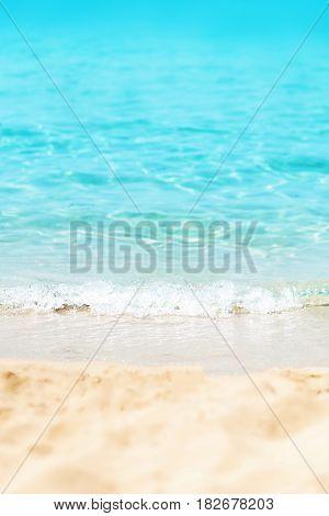 Tropical beach / Sunny day sea paradise / Sunny Beach Divine Coastline / Paradise postcard