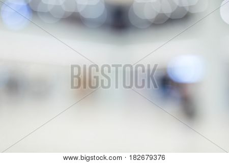 Blur background of shopping mall