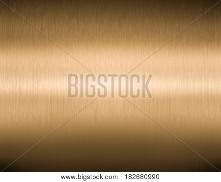 Bronze or copper brushed metal texture background