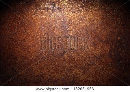 Dark rust background