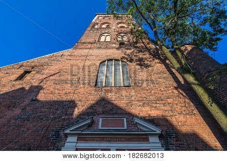 Cathedral of Saint James in Riga city Latvia