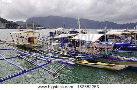 Coron Tourist Jetty In Palawan, Philippines