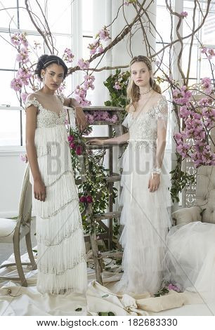 Marchesa - Spring 2018 Collection - New York Fashion Week Bridal