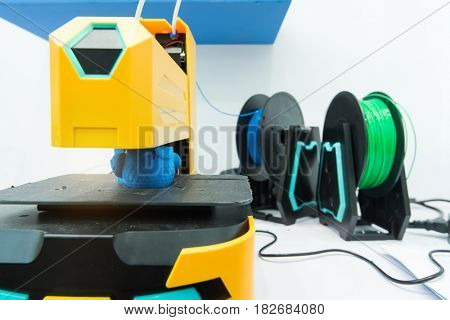 3D printer,Three dimensional printing machine