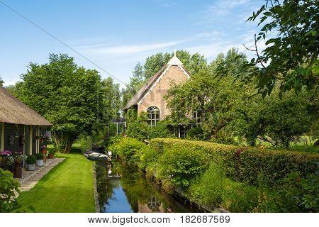 Giethoorn Village View