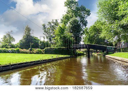 Village View Around Canals