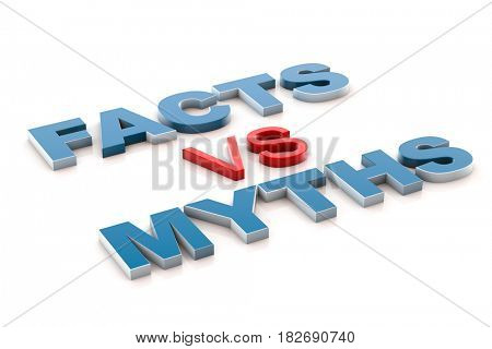 3d illustration facts vs myths