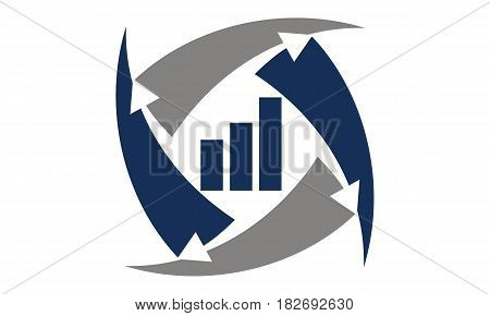 This vector describe about Business Data Transfer