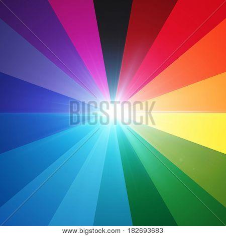 Lens Flare Spectrum Eighteen