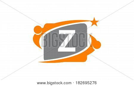 This vector describe about Career Coaching Initial Z