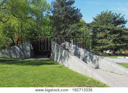Monumento Alla Resistenza Europea (european Resistance War Memorial) In Como