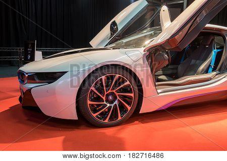 Bmw I8 2017 Presented On Tel-aviv Motor Show