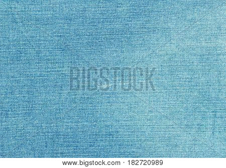 Blue Jeans Textile Texture.