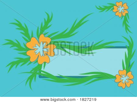 Flower Label Design
