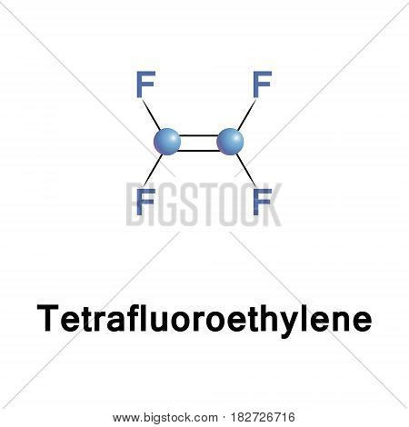 Tetrafluoroethylene, chemical compound with the formula C2F4. It belongs to the family of fluorocarbons and is the simplest perfluorinated alkene. It is used in the industrial preparation of polymers