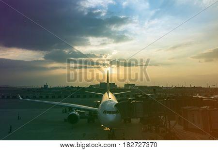 Airport Aircraft Airplane Aviation Transportation Travel