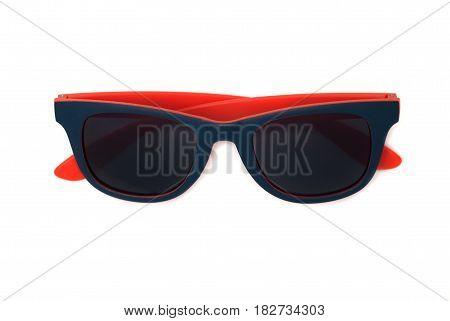 Fashion Sunglasses Isolated On White Background