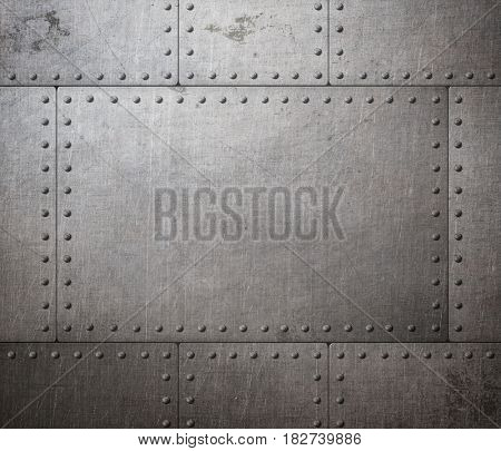 rusty armor texture or background 3d illustration