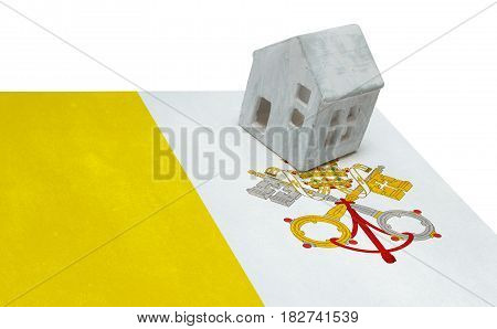 Small House On A Flag - Vatican City