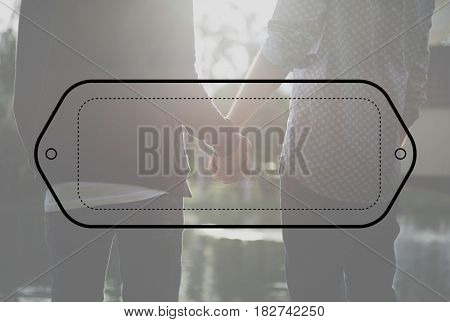 Blank Logo Stamp Tag Template