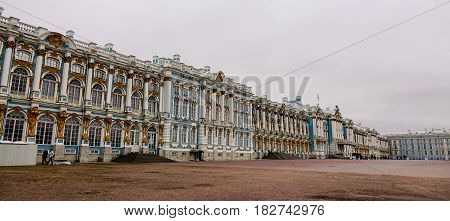 Old Architecture In Saint Petersburg, Russia