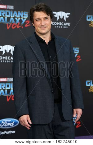 LOS ANGELES - APR 19:  Nathan Fillion at the