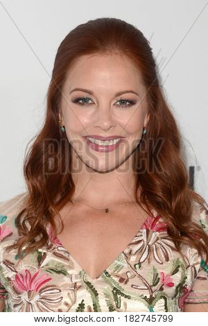 LOS ANGELES - APR 18:  Amy Paffrath at the Thirst Gala 2017 at Beverly Hilton Hotel on April 18, 2017 in Beverly Hills, CA